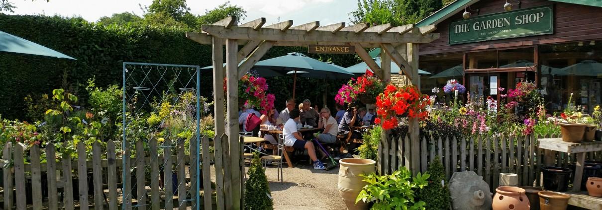 The Garden Shop and Caf Visit Colyton