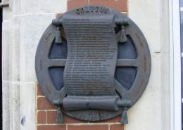 Colyton History Plaque